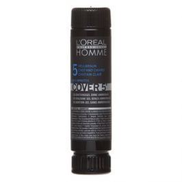 L´Oréal Professionnel Homme Cover 5 barva na vlasy No. 5 Light Brown 3 x 50 ml