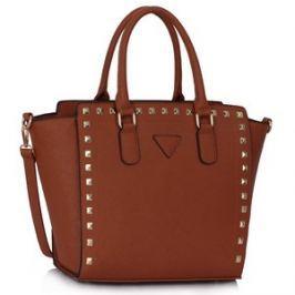 L&S Fashion LS00287 kabelka přes rameno přírodní hnědá
