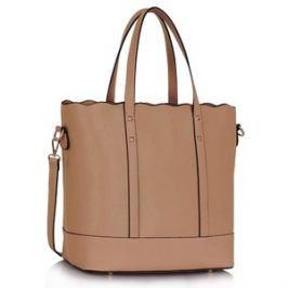 L&S Fashion LS00361 kabelka přes rameno starorůžová