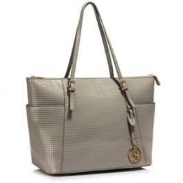 L&S Fashion LS00350A kabelka přes rameno šedá
