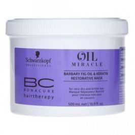 Schwarzkopf Professional BC Bonacure Oil Miracle Barbary Fig Oil & Keratin maska pro velmi suché a křehké vlasy 500 ml