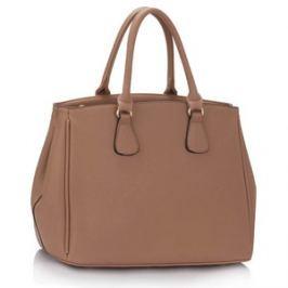 L&S Fashion LS00359 kabelka do ruky starorůžová