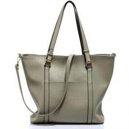 L&S Fashion LS00413 kabelka přes rameno šedá