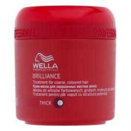 Wella Professionals Brilliance Treatment maska pro hrubé a barvené vlasy 150 ml