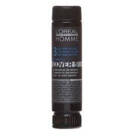 L´Oréal Professionnel Homme Cover 5 barva na vlasy No. 3 Dark Brown 3 x 50 ml