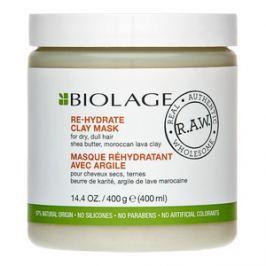 Matrix Biolage R.A.W. Re-Hydrate Clay Mask maska pro suché, mdlé vlasy 400 ml
