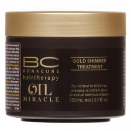 Schwarzkopf Professional BC Bonacure Oil Miracle Gold Shimmer Treatment maska pro hrubé vlasy 150 ml