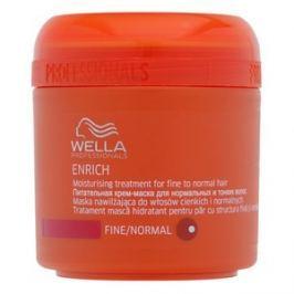Wella Professionals Enrich Moisturising Treatment maska pro jemné a normální vlasy 150 ml