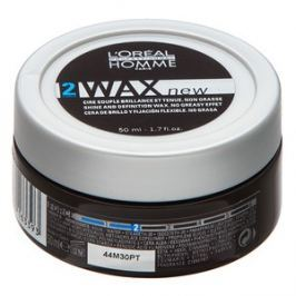L´Oréal Professionnel Homme Styling Wax vosk na vlasy pro lehkou fixaci 50 ml