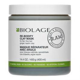 Matrix Biolage R.A.W. Re-Bodify Clay Mask maska pro zplihlé, jemné vlasy 400 ml