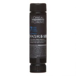 L´Oréal Professionnel Homme Cover 5 barva na vlasy No. 7 Medium Blond 3 x 50 ml