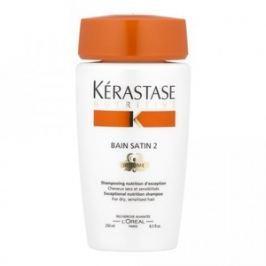 Kérastase Nutritive Bain Satin 2 Exceptional Nutrition Shamp šampon pro suché a citlivé vlasy 250 ml
