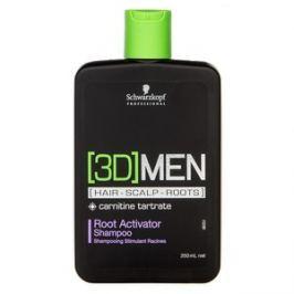 Schwarzkopf Professional 3DMEN Root Activator Shampoo šampon pro stimulaci vlasové pokožky 250 ml