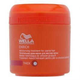 Wella Professionals Enrich Moisturising Treatment maska pro hrubé vlasy 150 ml