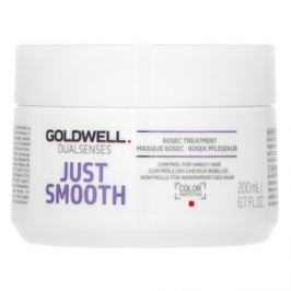 Goldwell Dualsenses Just Smooth 60sec Treatment uhlazující maska pro nepoddajné vlasy 200 ml