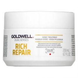 Goldwell Dualsenses Rich Repair 60sec Treatment maska pro suché a poškozené vlasy 200 ml