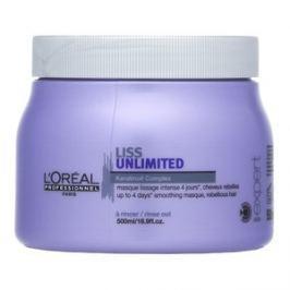 L´Oréal Professionnel Série Expert Liss Unlimited Mask maska pro nepoddajné vlasy 500 ml