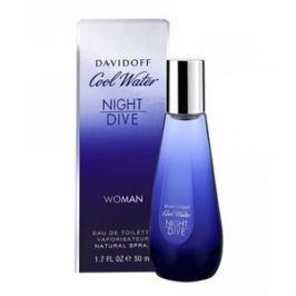 Davidoff Cool Water Night Dive Woman toaletní voda pro ženy 10 ml Odstřik