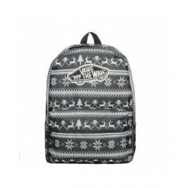 VANS Dámský batoh REALM BACKPACK HOLIDAY BLACK V00NZ0KQL 22 l