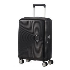 American Tourister Kabinový cestovní kufr Soundbox Spinner EXP 32G 35,5/41 l - černá