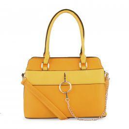Bessie London Dámská kabelka BW3233 - žlutá