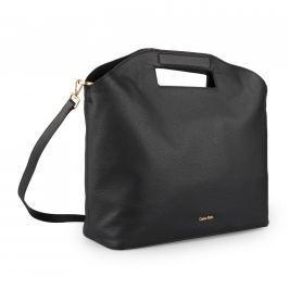 Calvin Klein Dámská kožená kabelka Carryall Large Grab K60K603864 - černá