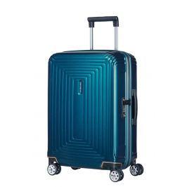 Samsonite Kabinový cestovní kufr Neopulse Spinner 44D 44 l - modrá