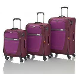 Travelite Travelite Meteor 4w S,M,L Berry – sada 3 kufrů