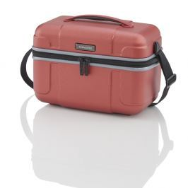 Travelite Skořepinový kosmetický kufřík Vector Beauty case 72003-88