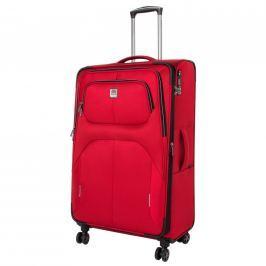 Titan Cestovní kufr Nonstop 4w L Red 108/122 l