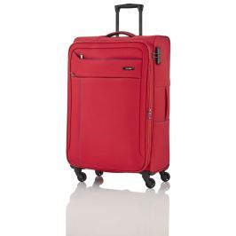 Travelite Travelite Solaris 4w S,M,L Red/blue – sada 3 kufrů + BB