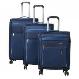 Travelite Cestovní sada kufrů 4w S,M, L + cestovní brašna Capri 89840-20