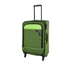 Travelite Cestovní kufr Derby 4w M Green 87548-80 69/79 l