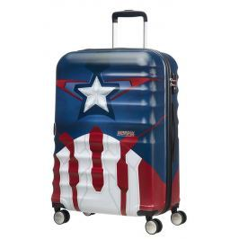 American Tourister Cestovní kufr Wavebreaker Marvel Spinner 31C 64 l - Captain America Close-Up