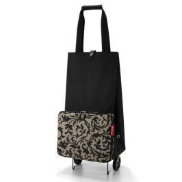 Nákupní taška na kolečkách Reisenthel Foldabletrolley Baroque taupe