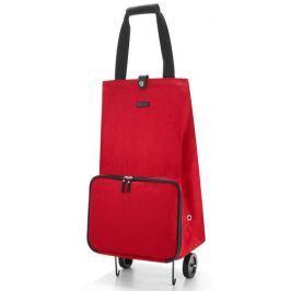 Nákupní taška na kolečkách Reisenthel Foldabletrolley červená