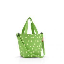 Taška a kabelka Reisenthel Shopper XS Spots green