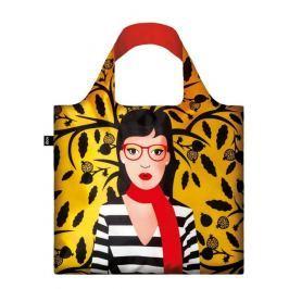 Skládací nákupní taška LOQI COOL PEOPLE Snake Lady