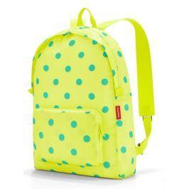 Skládací batoh Reisenthel Mini Maxi Rucksack Lemon dots