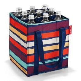 Nákupní taška na lahve Reisenthel Bottlebag Artist stripes