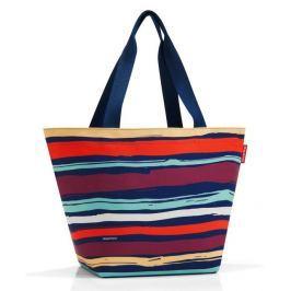 Nákupní taška přes rameno Reisenthel Shopper M Artist stripes