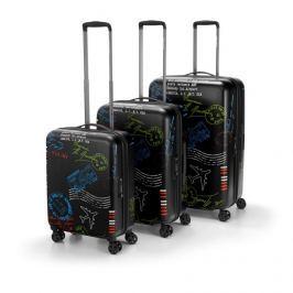 Set kufrů na kolečkách Reisenthel Suitcase set Special edition Stamps
