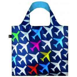 Skládací nákupní taška LOQI AIRPORT Airplane