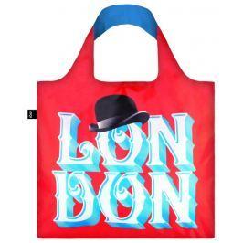 Skládací nákupní taška LOQI ALEX TROCHUT London