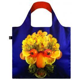 Skládací nákupní taška LOQI FRESH FACES Gilbert & Zelda