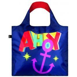 Skládací nákupní taška LOQI NAUTICAL Ahoy
