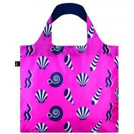 Skládací nákupní taška LOQI NAUTICAL Shells