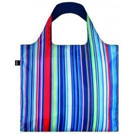 Skládací nákupní taška LOQI NAUTICAL Stripes