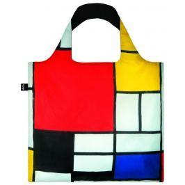 Skládací nákupní taška LOQI MODRIAN Composition