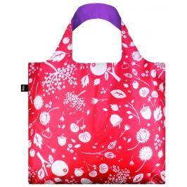 Skládací nákupní taška LOQI SEED Coral Bell